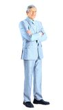 Nice businessman at the age Royalty Free Stock Photo
