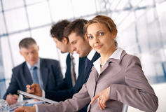 Nice Businesswoman. Royalty Free Stock Photography
