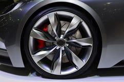 Nice Car Wheel. Royalty Free Stock Image