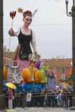Nice carnival Royalty Free Stock Photography