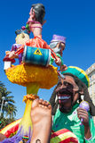 Nice Carnival, France Stock Photography
