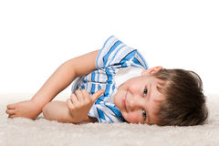 It is nice carpet! Royalty Free Stock Photo