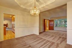 Nice carpet dinning room. Royalty Free Stock Photo