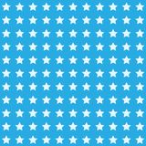 Nice cartoon star pattern with different stars icons on dark background Royalty Free Stock Images