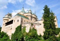Nice castle Bojnice, Slovakia, Europe royalty free stock photography