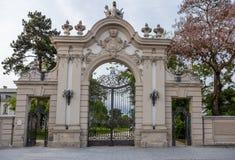 Nice castle entrance in Keszthely Royalty Free Stock Image