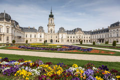 Nice castle in Keszthely. Hungary Stock Image
