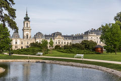 Nice castle in Keszthely, Hungary Stock Images