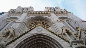 Nice cathedral Stock Images