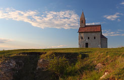 Nice Catholic Chapel in Europe Stock Image
