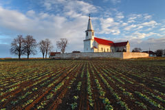 Nice Catholic Church in eastern Europe stock photos