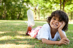 Nice caucasian little boy Stock Images