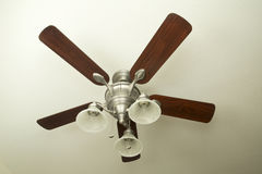 Nice ceiling fan stock photography
