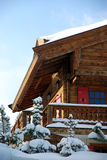 Nice chalet detail Royalty Free Stock Photography