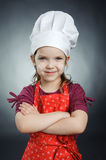 Nice chef Stock Images