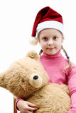 Nice Child With Toy Stock Photography