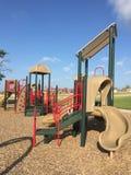 Nice children playground in community Stock Photo