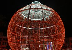 Nice Christmas light. S photo detail stock image