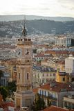 Nice city bird eye view, Cote d'Azur, France Stock Images