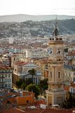 Nice city bird eye view, Cote d'Azur, France Royalty Free Stock Image