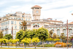 Nice city in France stock photos