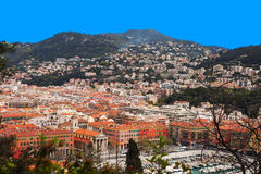 Nice city, France. Royalty Free Stock Image