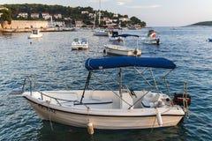 Nice City Hvar in Hvar Island in Croatia Stock Photography