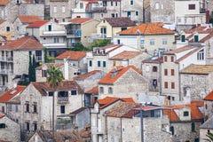 Nice City Hvar in Hvar Island in Croatia Stock Image
