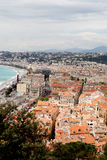 Nice city roofs, France. Stock Image