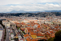 Nice city roofs, France. Royalty Free Stock Photo
