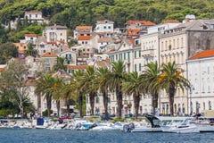 Nice City Split in Croatia Royalty Free Stock Images