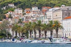 Nice City Split in Croatia Royalty Free Stock Photography