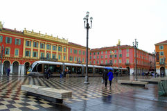 Nice city square,France Stock Photo