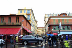 Nice city street,France Royalty Free Stock Images