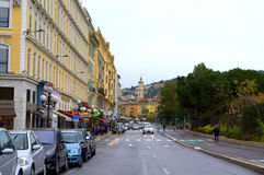 Nice city street view,France Stock Image