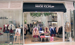 Nice Claup shop in hong kong Royalty Free Stock Images