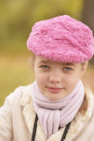 Nice closeup portrait of little girl Royalty Free Stock Photography