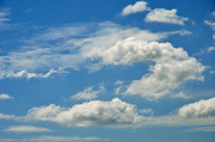 Nice cloud in blue sky Royalty Free Stock Photography