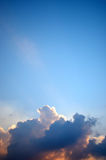 Nice cloud in blue sky Royalty Free Stock Image
