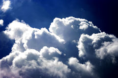 Nice cloud on sky Royalty Free Stock Images