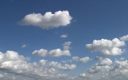 Nice clouds. Can be used as background Stock Photo