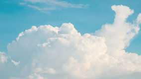Nice clouds in blue sky Royalty Free Stock Photos