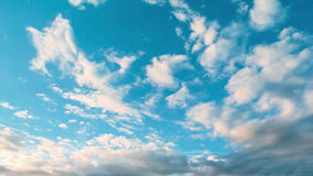 Nice clouds in blue sky Stock Image