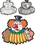 Nice clown Stock Images