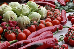 Nice collection of fresh produce Royalty Free Stock Photo