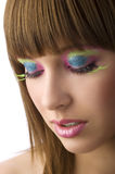 Nice color makeup Stock Photos
