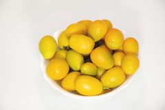 Colorful Citrus fruits close up in my room Stock Photo