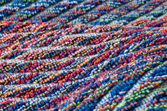 Nice colorful frottee texture. Colorful terrycloth with special pattern, close up Royalty Free Stock Images