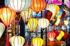 Nice colorful lantern. In Sai Gon, Viet Nam Royalty Free Stock Photos
