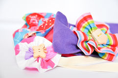 Little girl brooches Stock Images